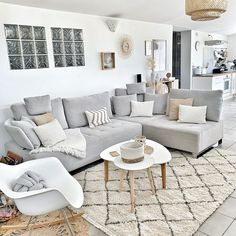 Salons Cosy, Sweet Home, Modern Room, Home Staging, Home Decor Inspiration, Ideal Home, Living Room Decor, Outdoor Furniture Sets, Decoration