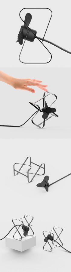 Elvin Chu – desk fan #designideas #designinspiration #design #productdesign #design #industrialdesign  #fan #deskfan