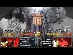 SMACK/URL & WORD WAR PRESENT AYE VERB VS ARSONAL  Who do you think  won?