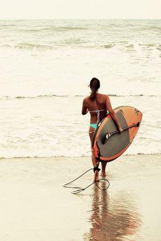 Ocean SUP love ~ 6/29/13 Surf City, NC