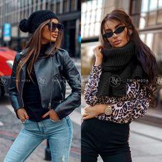Luxusná dámska čiapka a šál vo veľkosti uni Uni, Bomber Jacket, Jackets, Fashion, Colors, Down Jackets, Moda, Bomber Jackets, Jacket
