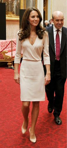 Catherine Duchess of Cambridge Buckingham Palace State Rooms Summer Opening, London 22 July 2011