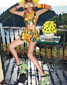 Vogue Japan - The Party Begins at Sunrise