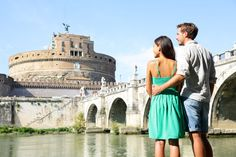 Rome Travel Tourists By Castel Sant Angelo Stock Photo - Image of castle, landmark: 37834334 Rome Travel, Travel And Tourism, Travel Ad, Top Honeymoon Destinations, Travel Destinations, Barcelona, Business Travel, Family Travel, Stock Photos