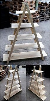 16 Excellent And Awesome Repurposed Garden Decor - Diy Garden Decor İdeas Recycled Garden, Recycled Pallets, Wood Pallets, Diy Garden, Recycled Materials, Garden Ideas, Pallets Garden, Pallet Wood, Crafts With Pallets