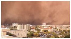 dust storm - Lubbock, TX