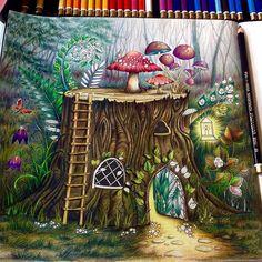 Agora Falta Pouco So Pequenos De Talhes E Todas As Frescurinhas Que Temos Direito Akakakakak Adult ColoringColoring BooksPSEnchanted Forest