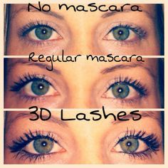 :) Seriously the stuff is amazing, can't get over the results from this product. You can have some of your own for 29.00 at my online party. 3D Fiber Lash Mascara rocks <3!  www.youniqueproducts.com/priscillamosley
