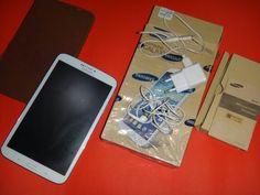 Dijual Samsung Tablet 3 8.0inch Full set Pembelian 29 Juli 2014  Gransi sudah habis Barang 99% masih mulus,  Free Capdase (jika mau di ambil) Kelengkapan : 1.Dus 2.Handfree 3.Charger 4.Buku Panduan 5.Tablet 6.Anti gores minyak (Sudah Terpasang)  Spesifikasi product dapat di lihat di google .  Di Jual Rp 3.300.000 ( atau barter dengan sony xperia  z1) Hub Phone/WA : 083817910061  Bb : 23858910