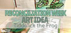 Reconciliation Week Art Ideas - Tiddalick the Frog - Ridgy Didge Resources Primary School Curriculum, Australia Map, Name Art, Simple Art, Art Activities, Geography, Back To School, Art Ideas, Salt
