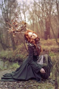 Flidais - Celtic (Irish) Goddess of the forest, woodlands, and wild things. She had a magic cow that could produce milk enough for three hundred men in one night. Also a shapeshifter who rode in a deer-drawn chariot. Wife of Ailill. Associated with protection of wild animals.