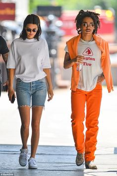 She's got good jeans! Kendall Jenner was back to her casual wear as she stepped out in NYC...