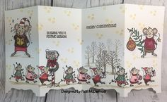 by Patti McDermott - Cards and Paper Crafts at Splitcoaststampers Girl Dresser, Baby Boy Cakes, Bib Pattern, Baby Girl Cards, Newborn Girl Outfits, Stampin Up Christmas, New Baby Girls, Trendy Baby, Mice