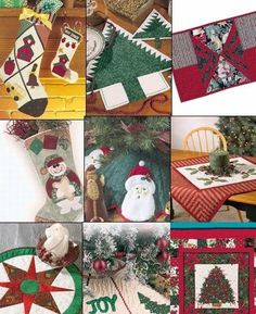 Christmas Quilt patterns -  Free Christmas Quilting and Decoration Patterns