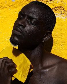 Travel photography, Fashion photography, Documentary photography, Editorial photography, and Portrait Photographers: Feature Shoot Black Boys, Black Men, Portrait Photography, Fashion Photography, Yellow Photography, Photography Ideas, Travel Photography, Body Photography, Editorial Photography