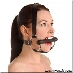 Saddle up! With this Locking Trainer Gag made from silicone. This gag is perfect for those into pony play. This gag has a chin strap for extra support as well as straps that go behind and over the head. There are two locking buckles in the back to make sure your little pony does not run off. Once your sub is strapped in they will find this gag to be very comfortable and since the gag is made fr... #Bondage #Gear #Bulk #Packaged #Products #Leather #Bondage #Goods
