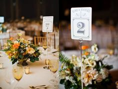 Old Hollywood Glamour Wedding.... Love the table numbers could be tweeked and use romantic movies or film stars