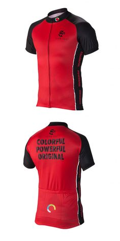 Team ICG® Radtrikot CbC rot: Unser CbC (Coach by Color®) Kurzarm Radtrikot in rot.