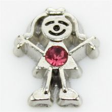 hot selling 10PCS little girls october birthstone floating charms for glass floating lockets //Price: $US $1.87 & FREE Shipping //     #jewelry