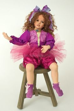 Brandy porcelain Ltd Ed 25 Studio Art Doll by Patricia Rose