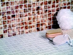 Rustica is a vitrified glazed ceramic mosaic available in a range of 10 colours.