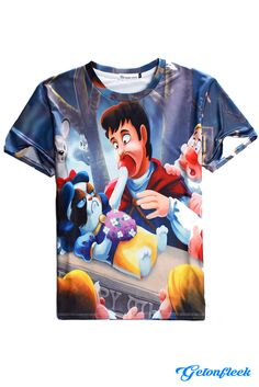 Grumpy Cat Snow White Tee - Shop the largest all over print clothing store today! www.getonfleek.com