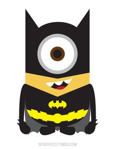 The Despicable Me Minion Batman iPhone cases by Smile Creation are very durable and long lasting. Protect your iPhone with Despicable Me Minion Batman case! Spiderman, Batman Minion, Im Batman, My Minion, Batman Superhero, Batman Logo, Minion Avengers, Superhero Emblems, Minion Stuff