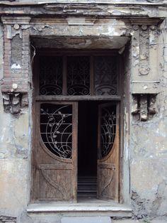 Art Nouveau Doors, Tbilisi, Georgia