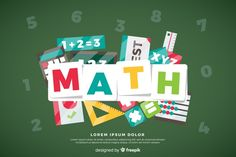 Math background Free Vector | Free Vector #Freepik #freevector #freebackground #freebook #freestudent #freescience Math 2, Free Math, Math Logo, Irrational Numbers, Backgrounds Free, Vector Photo, Teaching Math, Free Books, Digital Media