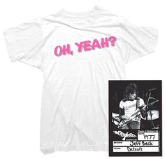 Jeff Beck T-Shirt - Oh, Yeah? Tee worn by Jeff Beck