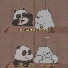 we bare bears Cute Panda Wallpaper, Cartoon Wallpaper Iphone, Bear Wallpaper, Cute Wallpaper Backgrounds, We Bare Bears Wallpapers, Panda Wallpapers, Cute Cartoon Wallpapers, Ice Bear We Bare Bears, We Bear