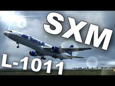 Captain Sim L-1011 Departing St. Maarten