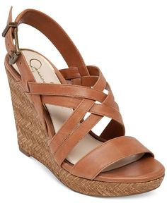 $70 Jessica Simpson Julita Platform Wedge Sandals - Sandals - Shoes - Macy's
