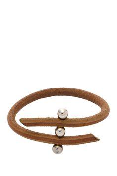 Vintage Hermes Studded Leather Bracelet