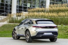 Mercedes' Tesla-Rivaling EQ SUV Concept Is The First Sign Of A New Electric Era