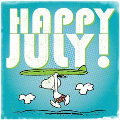Happy July with Snoopy! Peanuts Gang, Peanuts Cartoon, Charlie Brown And Snoopy, Peanuts Characters, Cartoon Characters, Lucy Van Pelt, Snoopy Quotes, Peanuts Quotes, Happy July