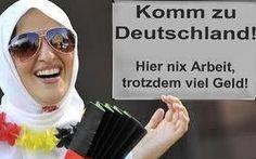Komm zu Deutschland! Hier nix Arbeit, trotzdem viel Geld!