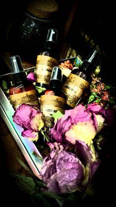 Amber Vanilla  and Sandalwood Aromatherapy Mist for Romance
