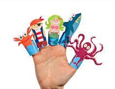 Resultado de imagen para paper finger puppets to print