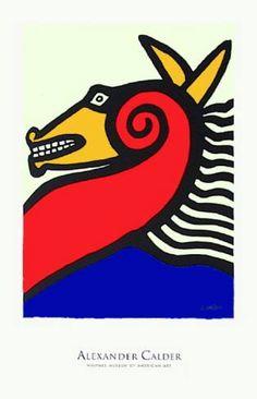 """ Horse"" by Alexander Calder"