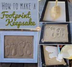 Looking for an activity to do with the kids? Here's a great project to encapsulate just how little they once were! Learn how to make this DIY sand footprint by viewing the full album including a link to detailed instructions on our site at http://theownerbuildernetwork.co/j7mu Could this be your next project this weekend?