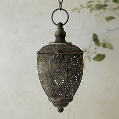Iron Acorn Lantern / Terrain