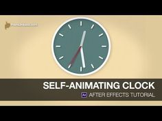 After Effects Video Tutorial: Creating a Self-Animating Clock on Vimeo Adobe After Effects Tutorials, Effects Photoshop, Video Effects, Vfx Tutorial, Animation Tutorial, Digital Art Tutorial, Good Tutorials, Design Tutorials, Design Projects