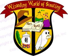 Wizarding World of Scouting Patch