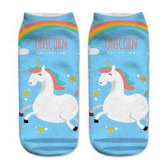 3D Printed Unicorn Socks