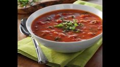 Tomato Florentine Soup by thefoodventure.com