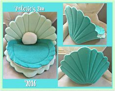 This is a seashell sofa for guinea pigs made by me and sold in my Etsy Shop Valerie's Zoo