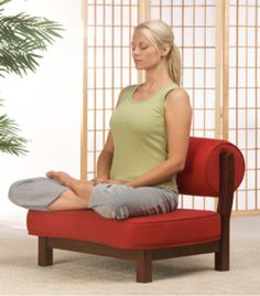 The Rama Meditation Chair from Zen By Design                                                                                                                                                                                 More