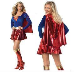 Supergirl Sexy Halloween Costume