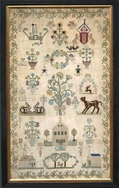 18th Century Dutch Sampler